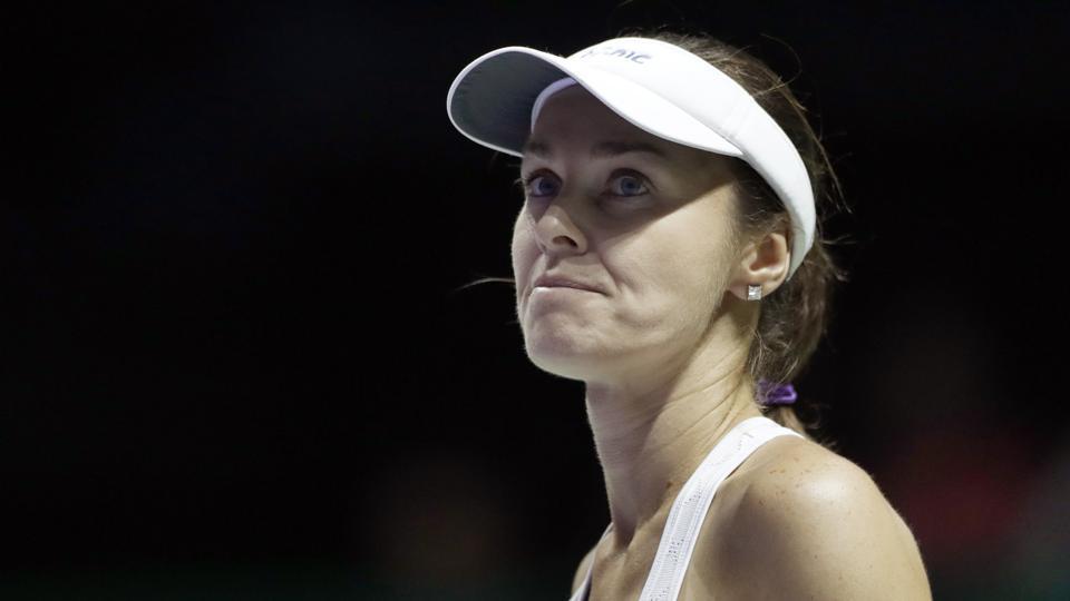 Tennis : Martina Hingis ends career on losing note