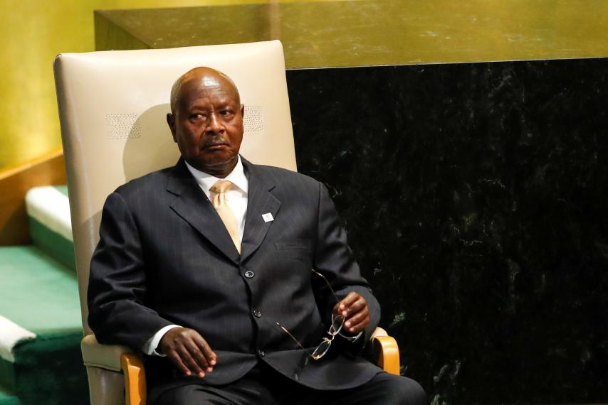 Ugandan police ban protest against presidential age limit removal