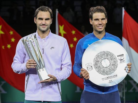 Roger Federer beats Rafael Nadal to win Shanghai Masters