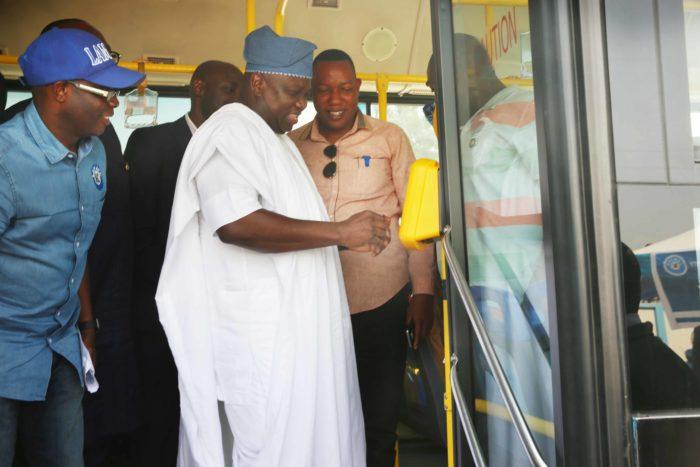 Ambode inaugurates BRT e-ticketing, multiple laybys at Ketu