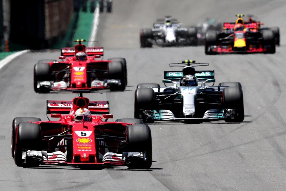 Vettel edges Bottas to win Brazilian GP, Hamilton finishes fourth