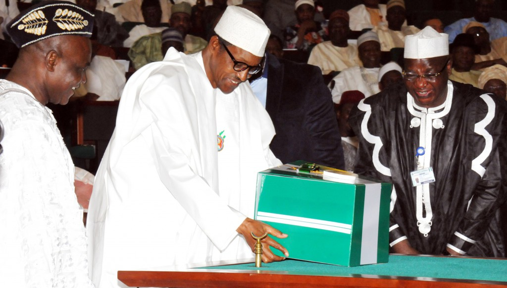 Image result for buhari in NASS
