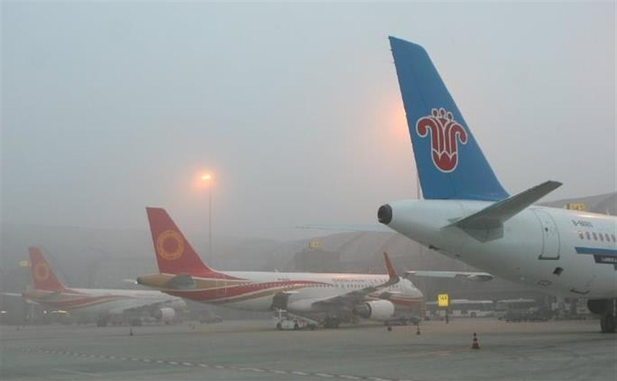 Dense fog leaves 10,000 passengers stranded at Chinese airport