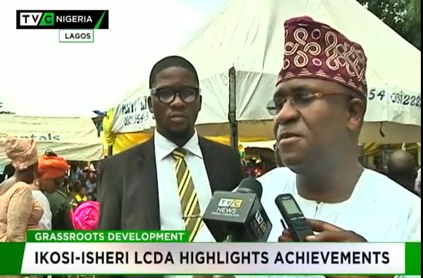 Grassroots devt: Ikosi-Isheri highlights achievements