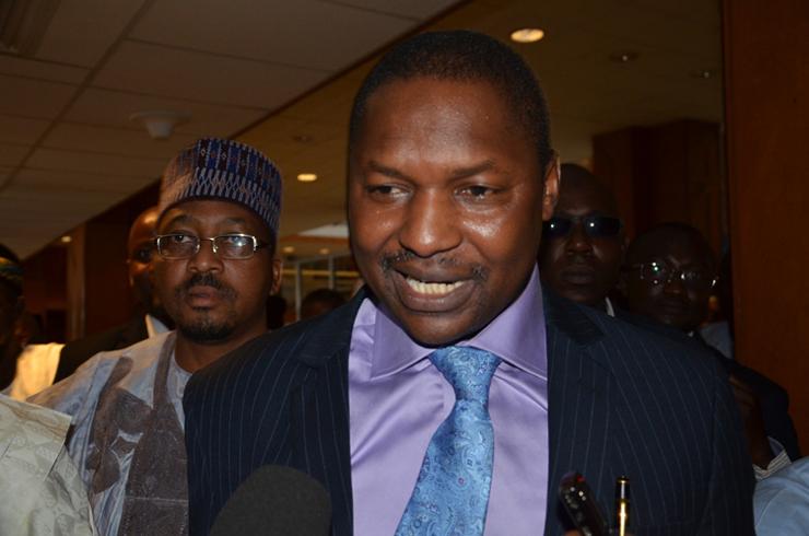 #Mainagate: Senate begins investigation, meets with AGF Malami