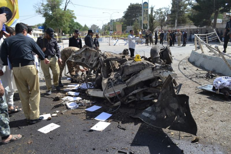 Bomb kills three, including senior police official in Pakistan