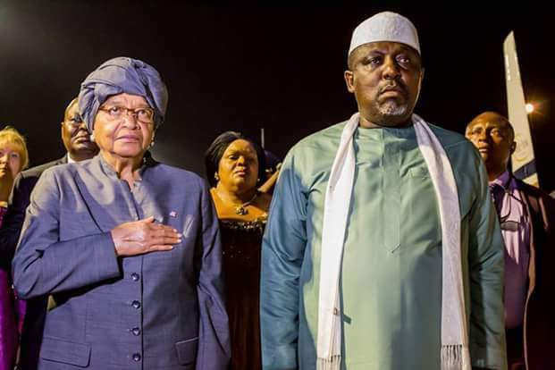 Ellen Sirleaf visits Imo state to meet Liberian students