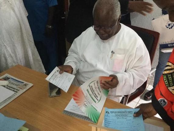 Bode George joins PDP chairmanship race