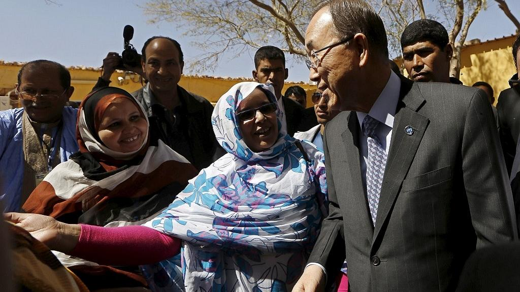 Ban Ki-moon rejects Morocco criticism after Sahrawi refugees visit