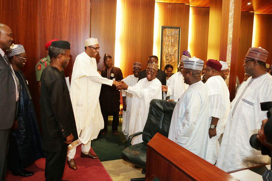 Nigeria's economic council reposes confidence in Buhari's team