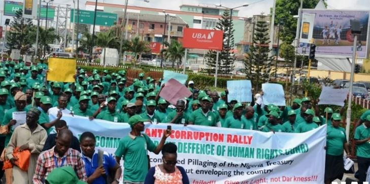 Corruption: Activists stage Protest in Abuja