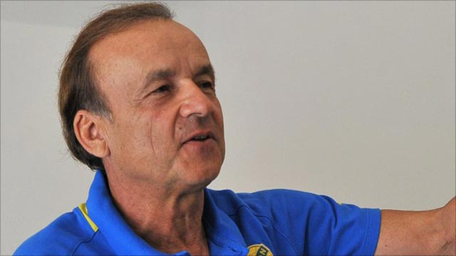 Rohr to watch Eagles' opponent in Gabon