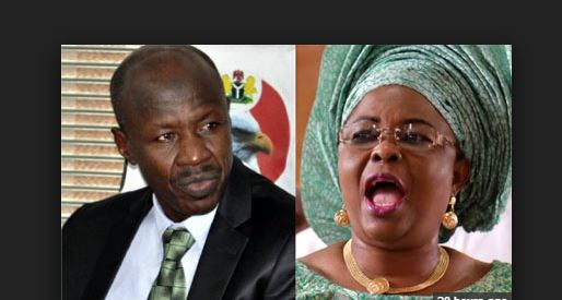 'Accounts frozen by EFCC belong to my late mum' – Patience Jonathan