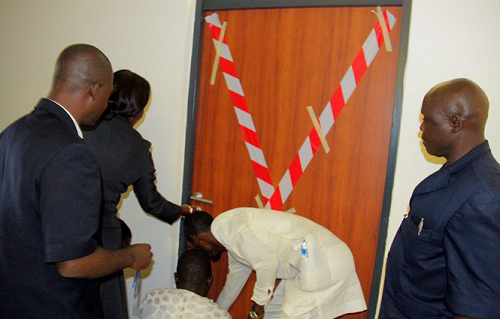 Padding: House of Reps seals off Jibrin's Office