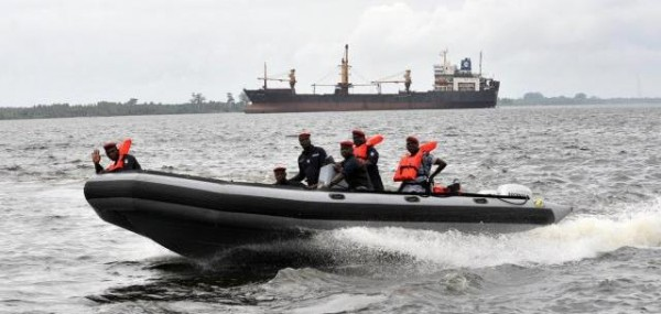 Delta state navy parades oil pipeline vandals, pirates