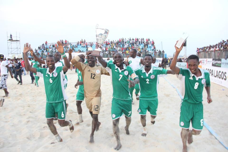 Nigeria draw Ghana, two others in 2016 Beach AFCON