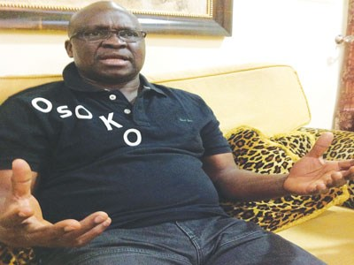 'I am like Jesus Christ, they are after me '–  Ayo Fayose