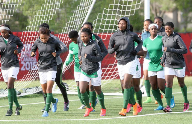 Falcons resume training in Abuja
