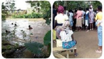 Unidentified Girl drowns in Osun-Gbodofon River in Osogbo