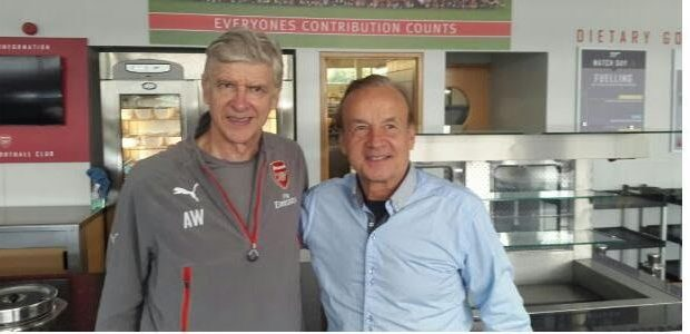 Gernot Rohr visits Wenger, Mike Emenalo over Algeria clash