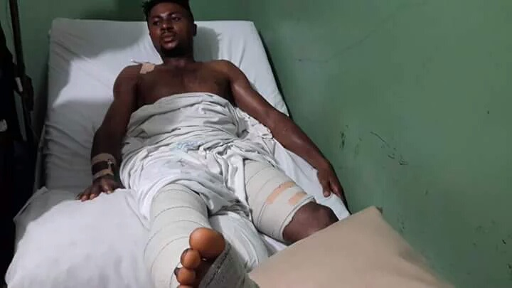 Injured Ifeanyi Egwim vows to return stronger