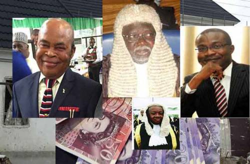 Lawyers bicker on legality Judges' arrest