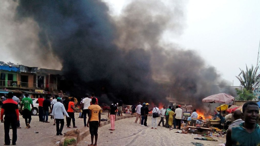Eight killed, 15 injured as Explosion rocks Muna Garage in Maiduguri