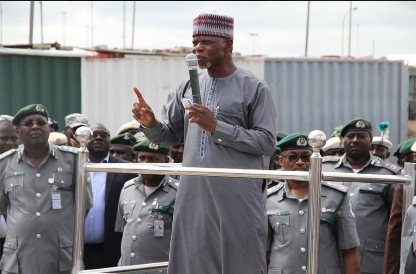 Nigerian Customs impounds Goods worth N1.3bn