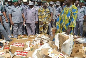 Customs uncovers Substance alleged to be hard drugs