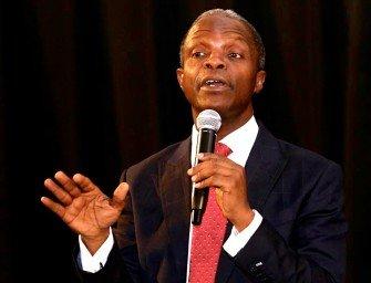 Corruption responsible for Poverty in Nigeria – Osinbajo