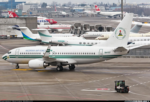 FG puts up two Presidential Jets for Sale