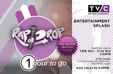 TVC begins 'Rap or Drop' Reality Show