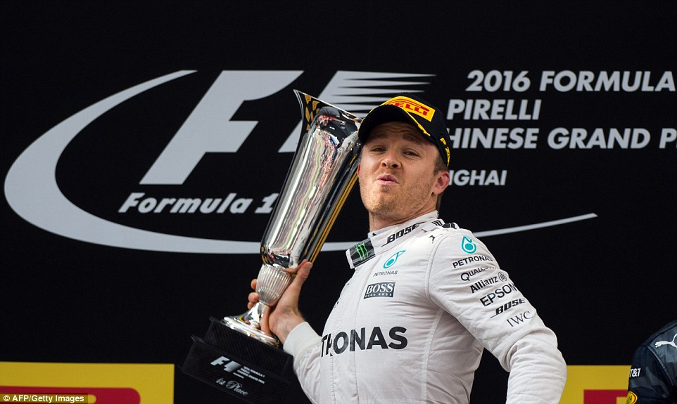 Rosberg extends lead over Hamilton with victory
