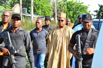 Insurgency: Borno Governor tours ravaged Communities