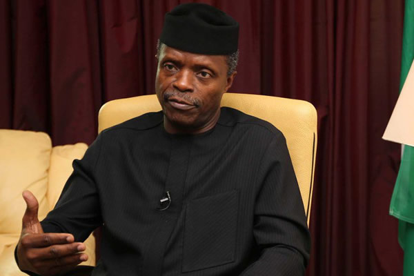 FG begins school feeding programme this month –Osinbajo