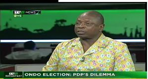 Ondo Election: 'There is no house in order in Nigeria' – PDP Chieftain