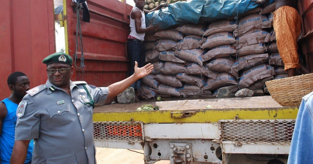 Customs seizes smuggled rice along Idiroko