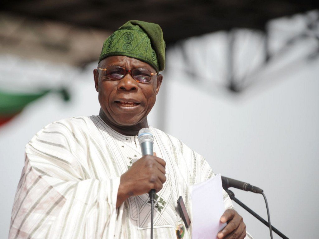 'Trading with others will tackle recession' – Obasanjo