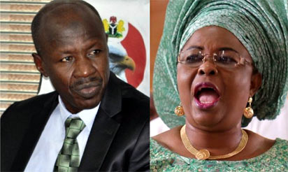 Patience Jonathan sues SERAP, says $15m is gift