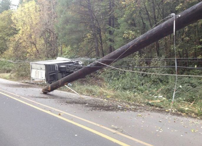 Aba: Scores injured as truck crashes into electric poles