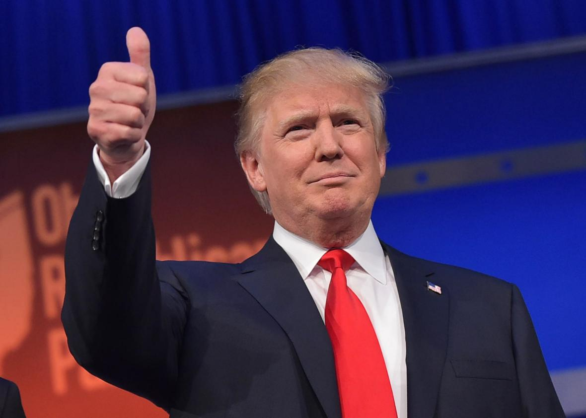Donald Trump wins U.S. presidential election