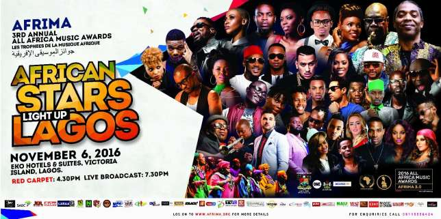 AFRIMA organisers unveil hosts for 2016 edition