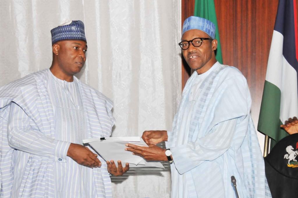Buhari Moves to Reset Relationship with Saraki, Senate Leadership
