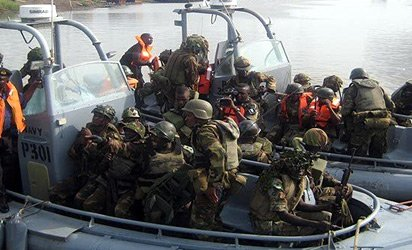"Troops of ""Operation Delta Safe"" carry out massive raid"