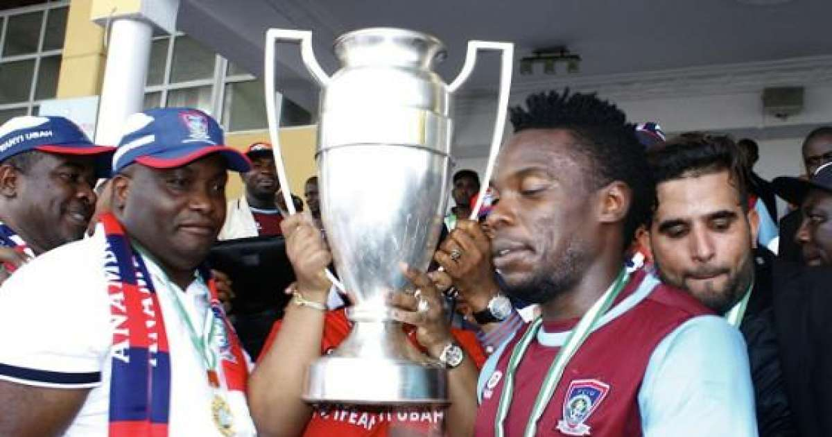 FC IfeanyiUbah to parade FA Cup trophy