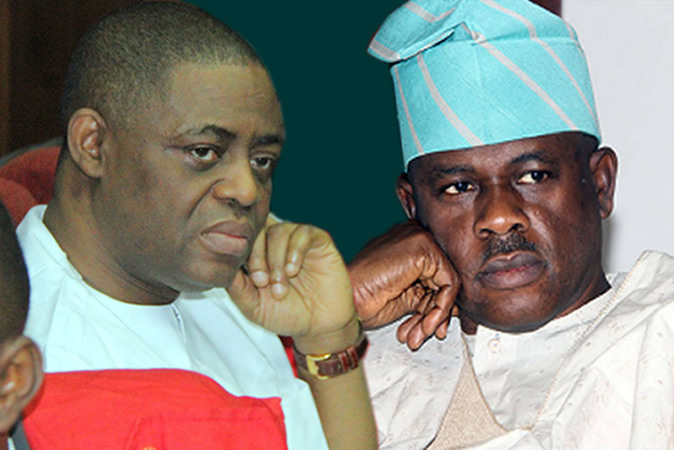 Nigerians react to APC leaders' visit to Fani-Kayode, others