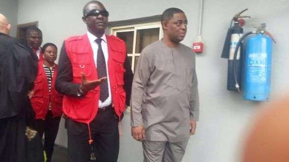 Fayose visits Fani-Kayode at EFCC