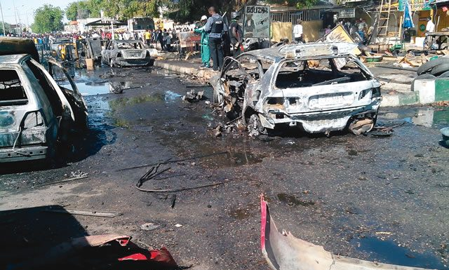 Police confirm six killed in Maiduguri multiple explosions