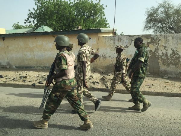 Nigerian troops, civilian JTF storm Boko Haram market, kill several people