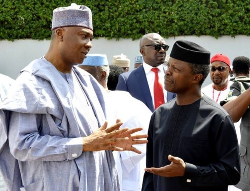 APC leaders meet Yemi Osinbajo in Abuja